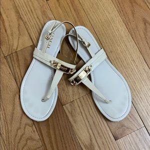 Coach collection Caterine thong sandals